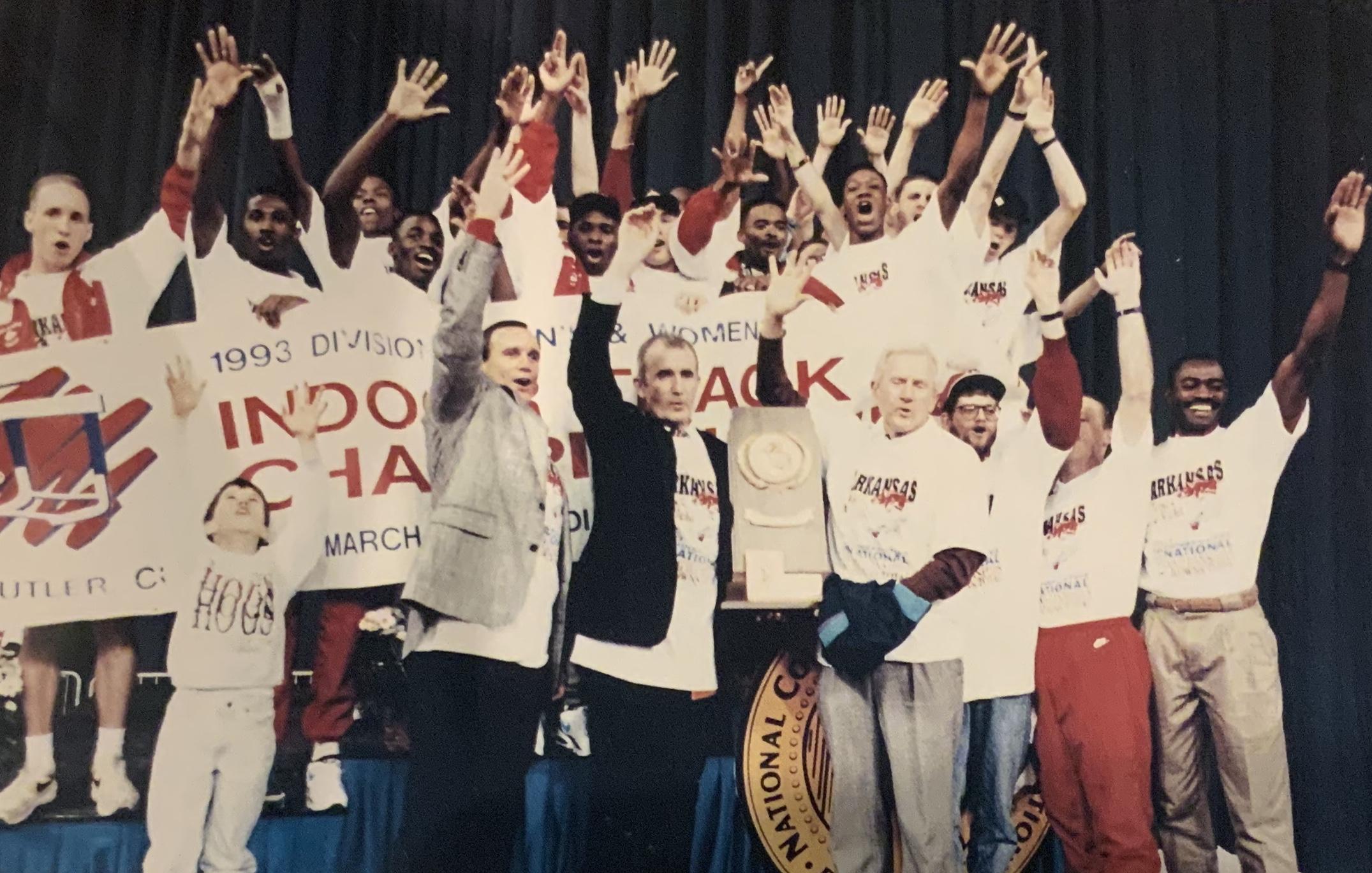 1993 NCAA Indoor Champions