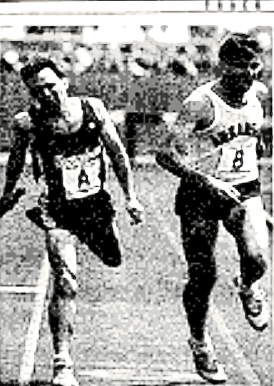 Eric Henry pips Georgetown in the 1991 DMR