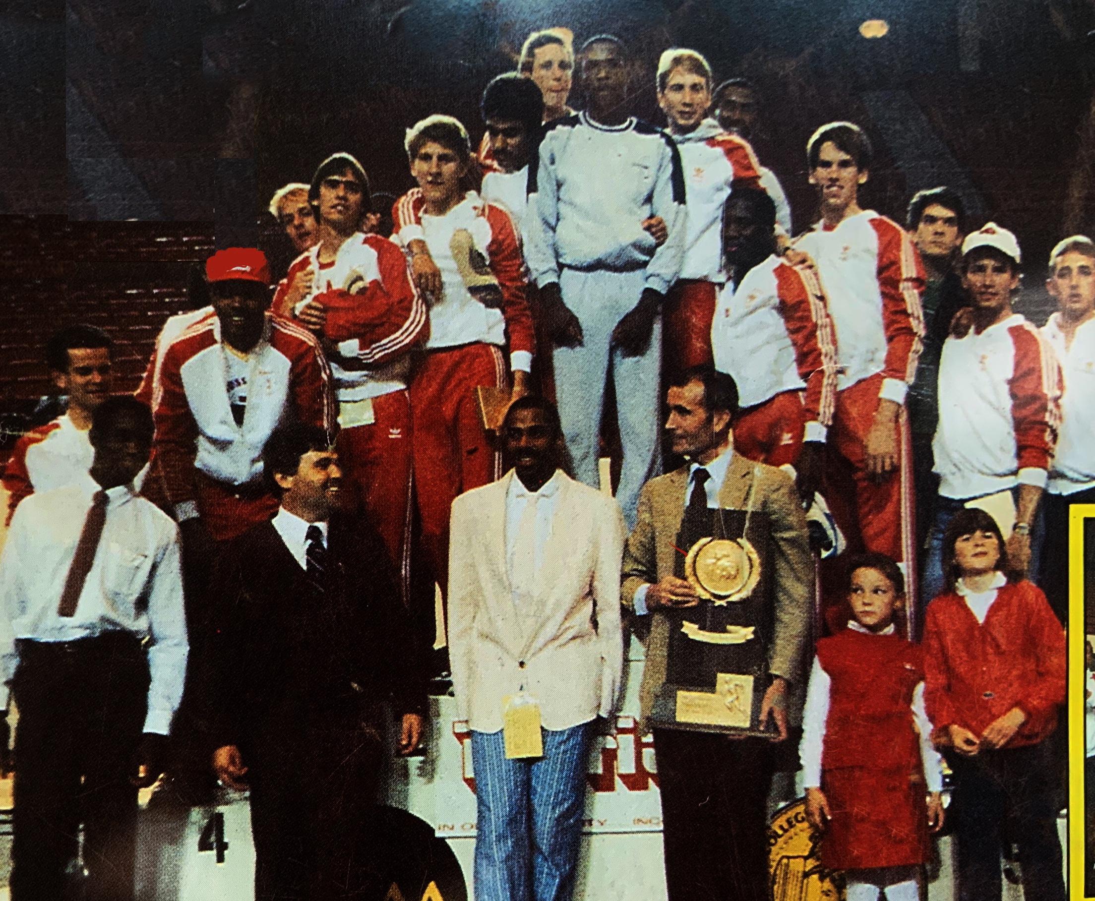 1986 NCAA Indoor Champions