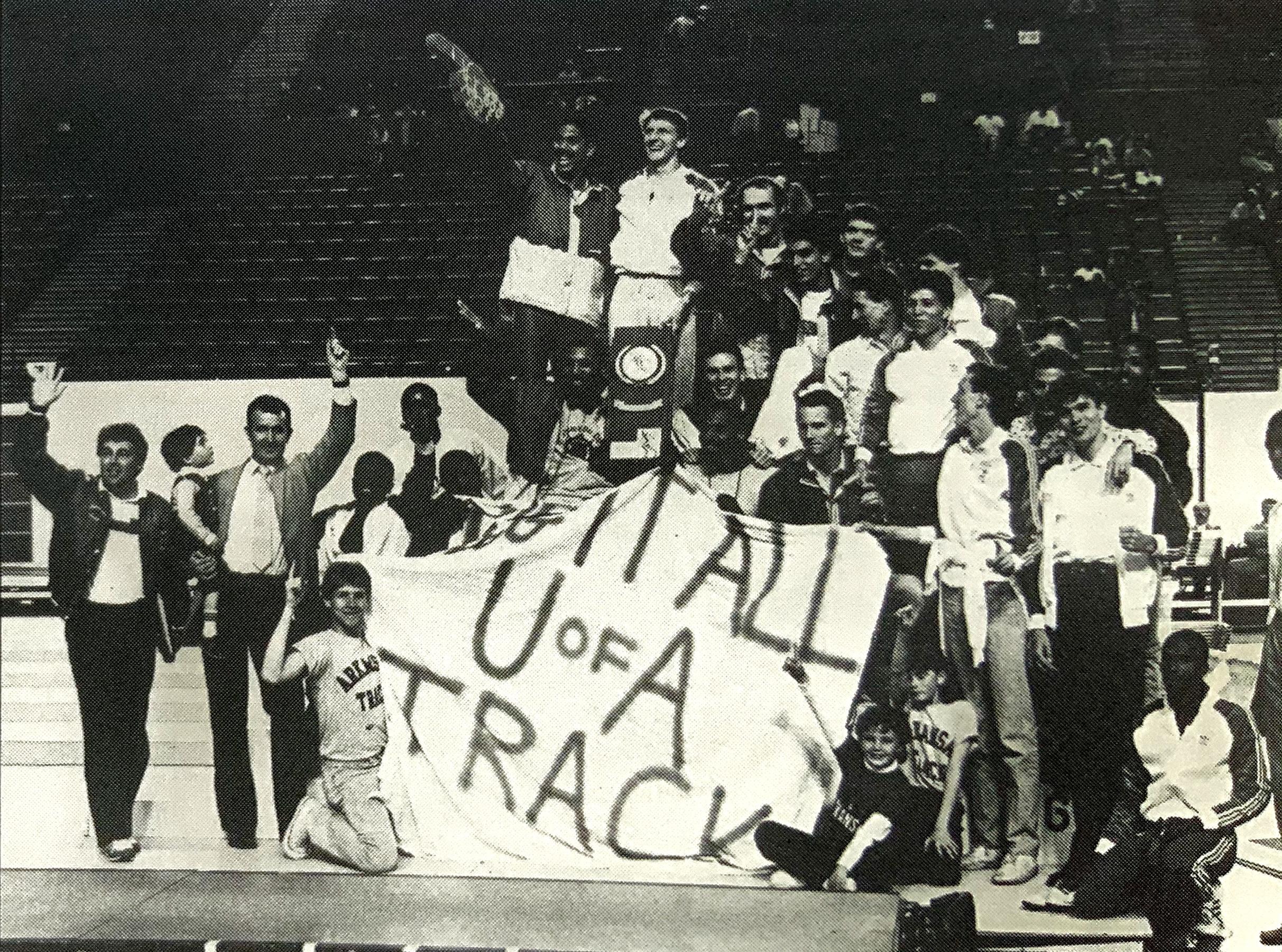 1987 NCAA Indoor Champions
