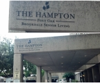The Hampton Entrance