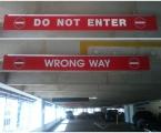 Hanging Garage Signs