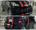 Smart-Car Racing Stripes