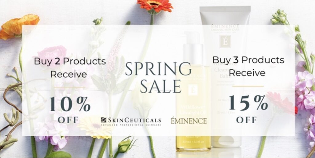 Spring 2021 Sale! Buy two items, get 10 percent off. Buy three or more items and get 15 percent off.