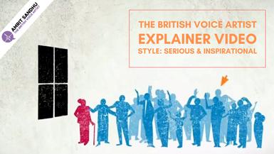 The British Voice Artist - Explainer Video