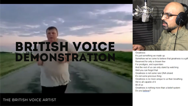The British Voice Artist - Greatness Nike Voice Over