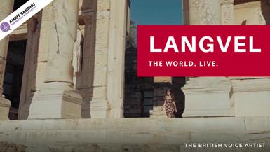 The British Voice Artist - Langvel