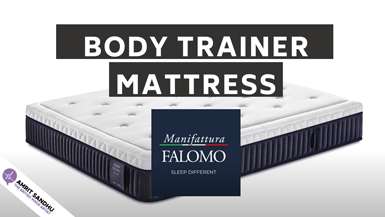 The British Voice Artist - Manifattura Falomo Body Trainer Mattress