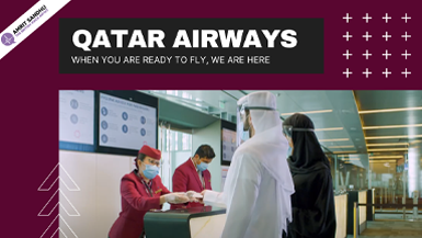 The British Voice Artist - Qatar Airways 2