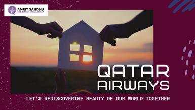 The British Voice Artist - Qatar Airways web