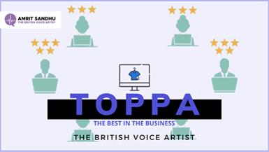 The British Voice Artist - Toppa