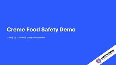 The British Voice Artist - Creme Food Safety