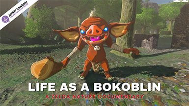 The British Voice Artist - Life as a Bokoblin