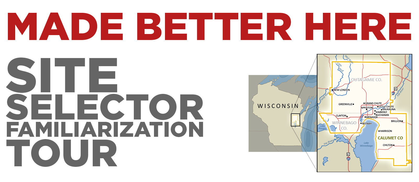 PRESS RELEASE: FOX CITIES REGIONAL PARTNERSHIP TO HOST SITE SELECTORS AS KEY PIECE TO MARKETING OUTREACH