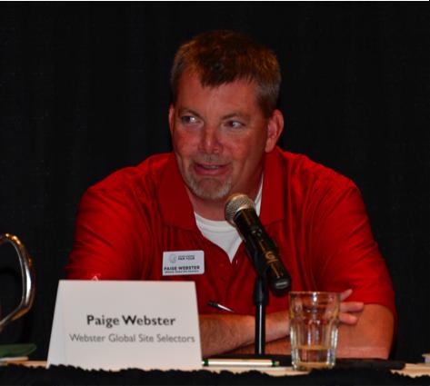 Paige Webster, Webster Global Site Selectors