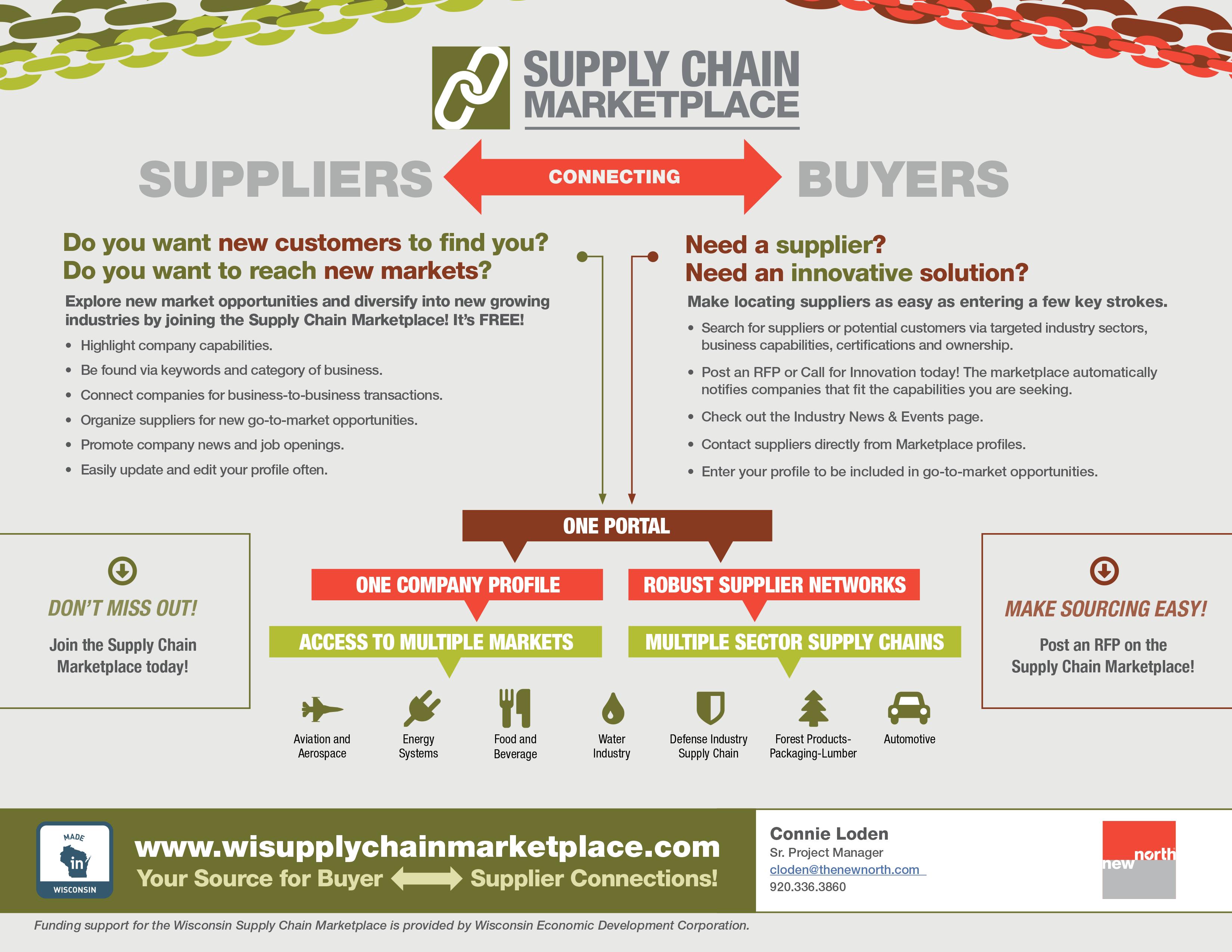 Supply Chain Flyer