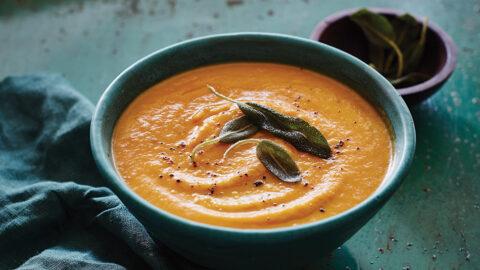 Spiced Butternut-Pumpkin Soup