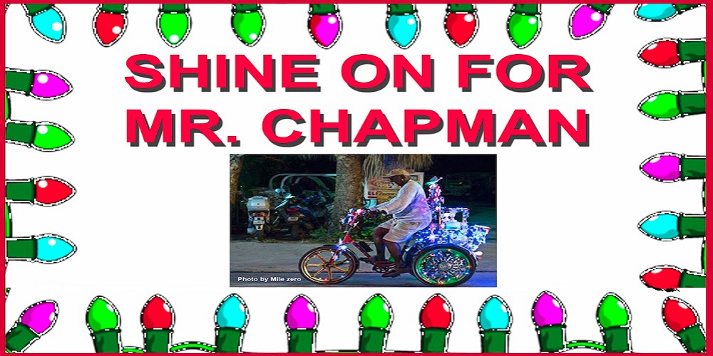 Shine on for Chapman