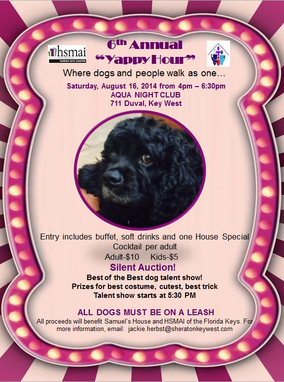 Yappy Hour flyer jpeg