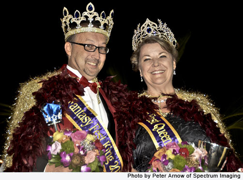 "2013 King & Queen King Stephen ""Sunshine"" Sunday & Queen Diane May"