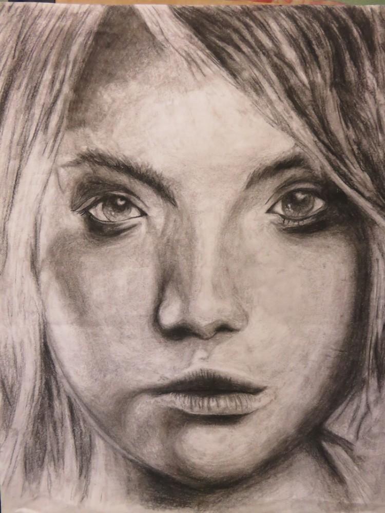 clementine age 16 portrait blond