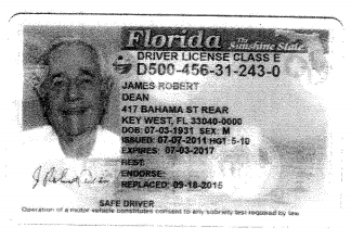 dean dl changed sept 18 2015 to key west