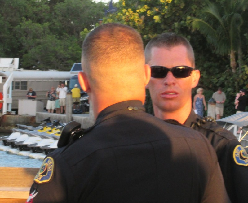 Off-Duty KWPD working 3/09 event at Ocean Key