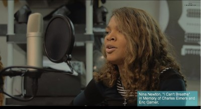 "Nina Newton Sings ""I Can't Breathe"""