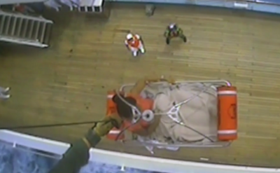 {VIDEO} Woman Goes Into Labor on Cruise; Is Medevaced Off Ship