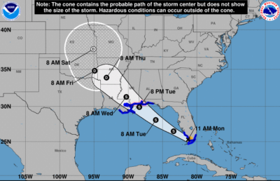 Tropical Storm Gordon Brings Winds/Rain To Upper Keys