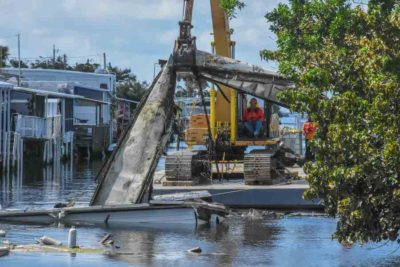 Work Begins on $49 Million Canal Debris Clean Up