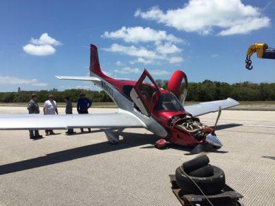 Single-Engine Aircraft MIshap Causes Runway Closure at Marathon Airport