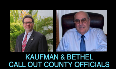 KAUFMAN & BETHEL CALL OUT COUNTY OFFICIALS FOR SOFT CORONAVIRUS RESPONSE