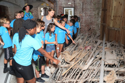 Fifth Graders Visit East Martello Fort...