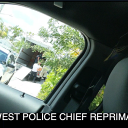 KWPD CHIEF REPRIMANDED