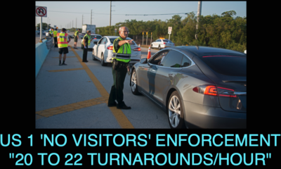 "Keys Closed to Visitors: ""About 20 to 22 Turnarounds an Hour"""