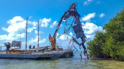 31 Derelict Vessels Removed From Marquesas Keys During Monroe County-Led Project