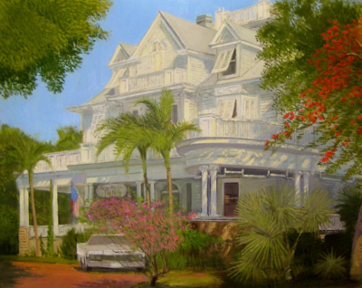 Curry Mansion Portrait by Stephen LaPierre: Pre-Irma Art