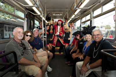 Fantasy Fest Shuttle Bus Offers Late Night Hours on Saturday