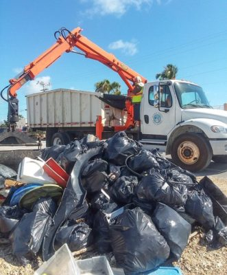 More than 118,000 Pounds of Hurricane Debris Collected During 4 Community Cleanups