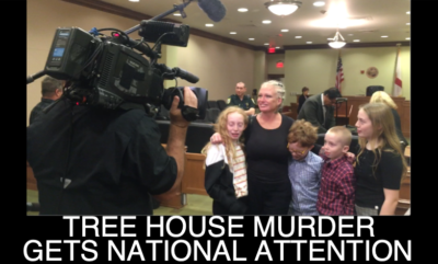 Treehouse Murder Gets National Attention