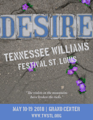 Tennessee Williams Festival St. Louis Announces 'A Streetcar Named Desire' as the 2018 Main Stage Production
