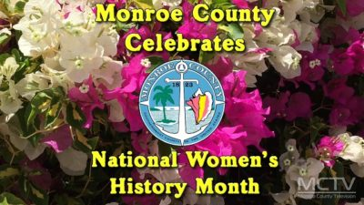 "Monroe County TV to Premiere Featurette: ""Monroe County Women's Month 2017"
