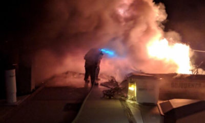 Domestic Dispute Ends in Flames / Arson Charges Possible
