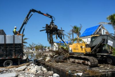 Hurricane Irma Marine Debris Cleanup Update in Unincorporated Monroe County