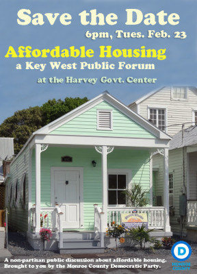 Affordable Housing Public Forum, Feb 23rd