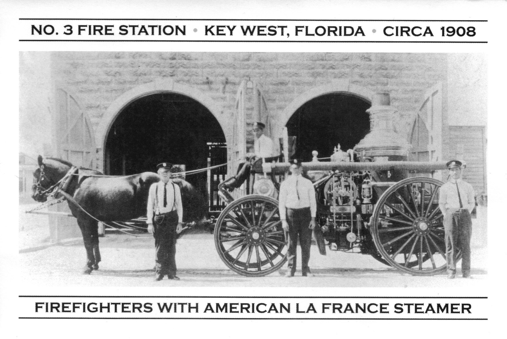 firefighting steamer horses
