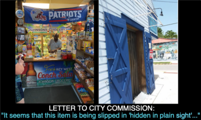 """LETTER TO CITY COMMISSION: """"It seems that this item is being slipped in 'hidden in plain sight'..."""""""