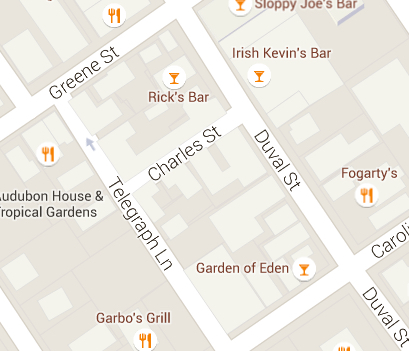 map charles telegraph duval
