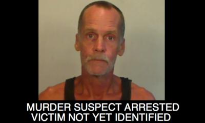 Murder Suspect Arrested / Victim Not Yet Identified